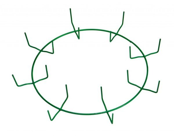 10″ Green Clamp Ring – 8 Clips