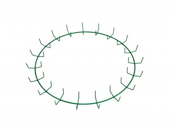 20″ Green Clamp Ring – 19 Clips