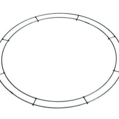 "8""-20"" Narrow Double Rail Hand Tied Rings"