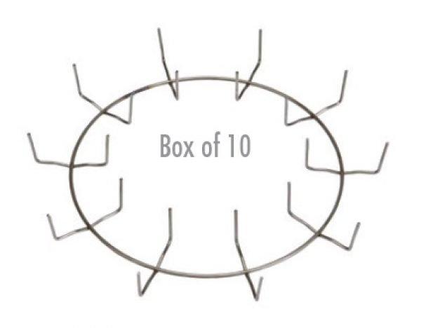 10″ Clamp Ring - Regular Clip (Box of 10)