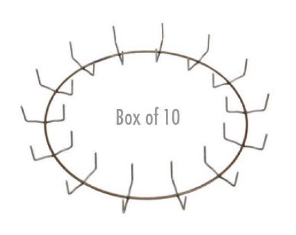 14″ Clamp Ring - Regular Clip (Box of 10)