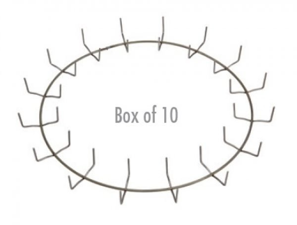 16″ Clamp Ring - Regular Clip (Box of 10)